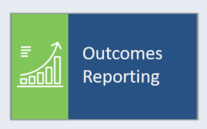 outcomes reporting icon