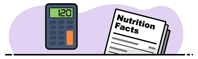 Food Calculator Illustration