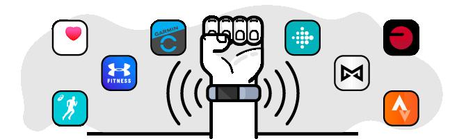 Activity Apps Illustration